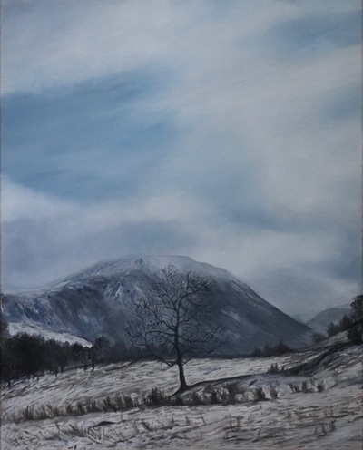 Wintry Scene near Aira Force - SOLD (prints available)