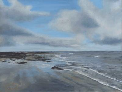 'Cresswell Beach, Northumberland' Print