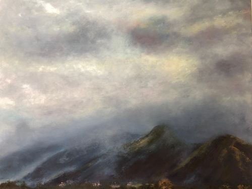 Low cloud over Catbells