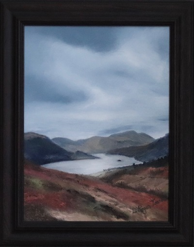 View of Ullswater from Gowbarrow  - SOLD