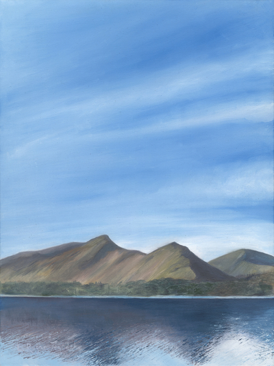 'Looking towards Catbells' Print
