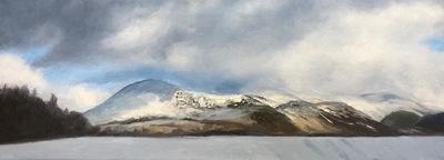 Snow on Clough Head