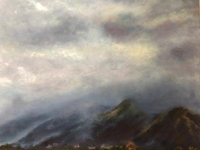 Low cloud over Catbells