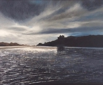 Castle Tioram in the evening  - SOLD (Prints available)