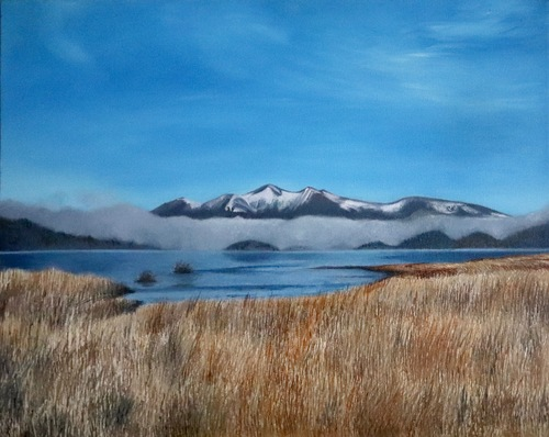 Skiddaw on a Winter's day  - SOLD