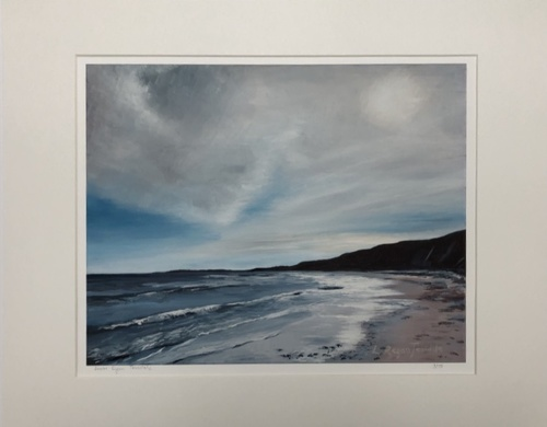 'Warkworth beach' Print